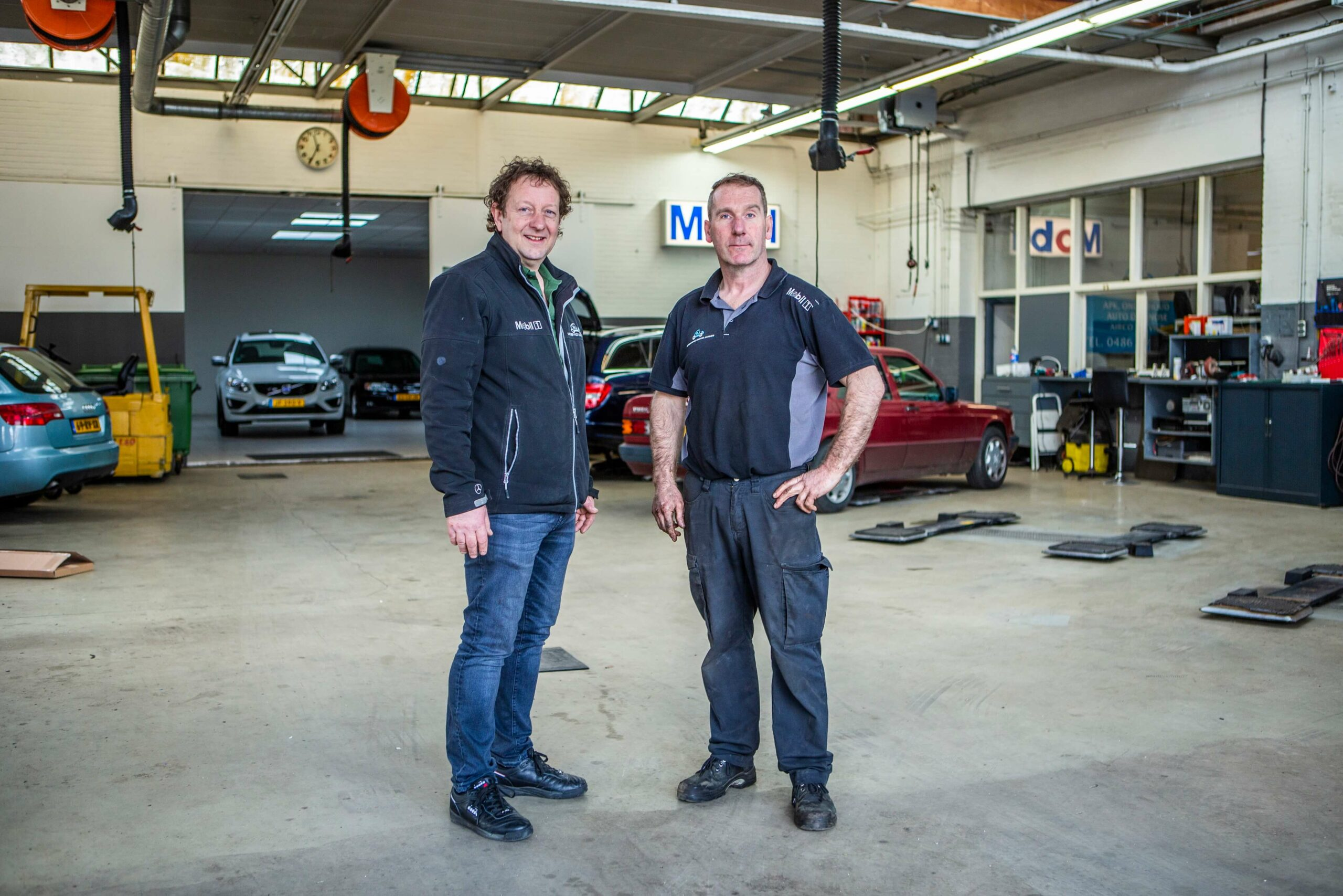 Martin Jansen en Toon Dappers
